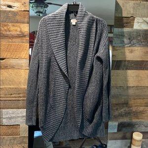 Grey - loose/long sweater - missimo